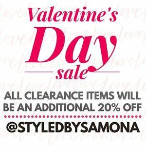 Accessories - Valentine's Day sale